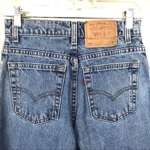Vintage Levi's 505 high rise mom jeans 5